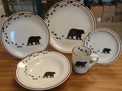 Classic Brown Speckled Dinnerware