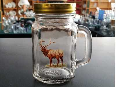 Full Color Drinking Jars